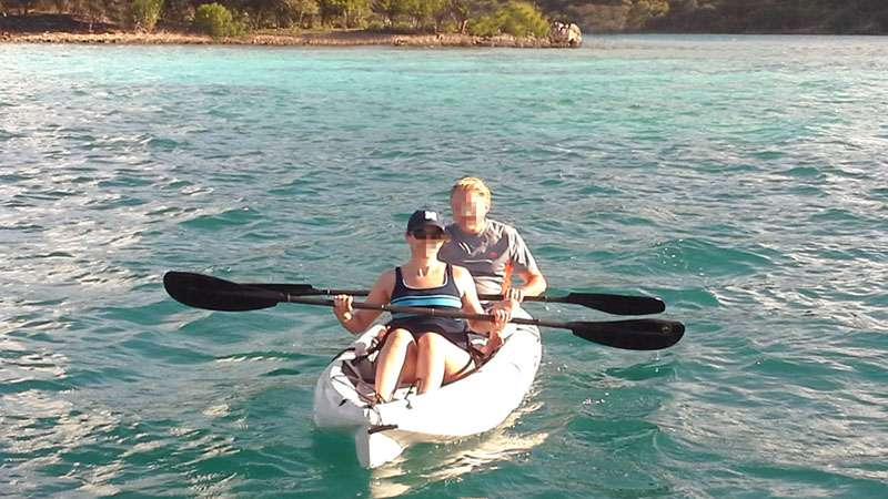 Kayak exploration