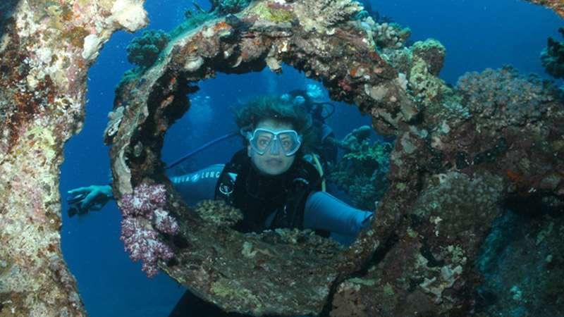 Dive Instructor Sylvia