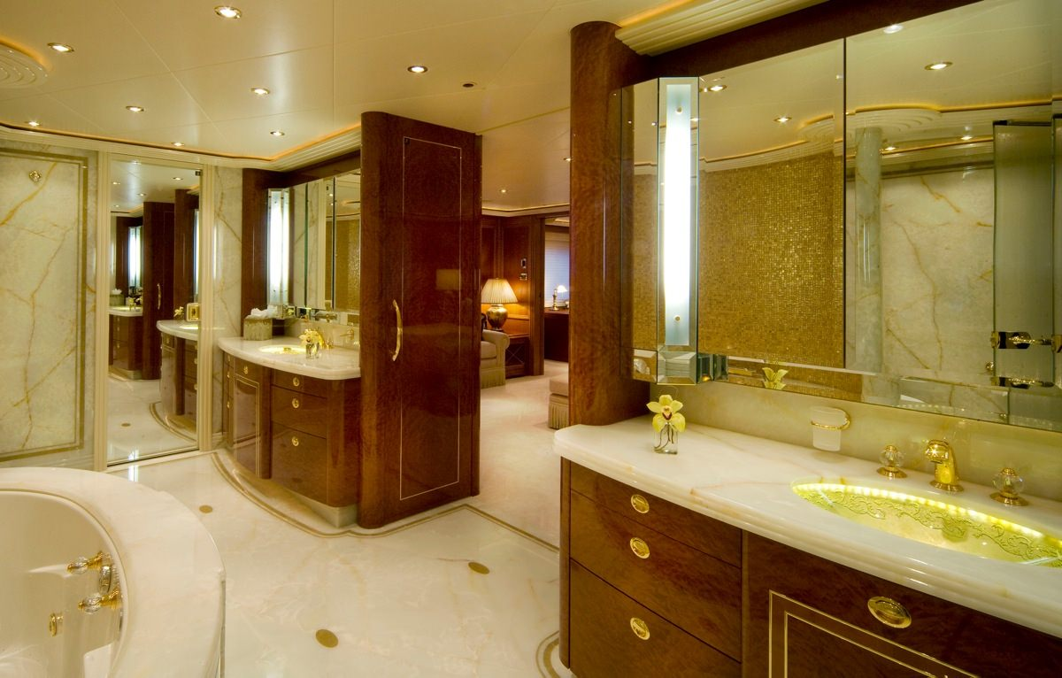 Master Bath His & Her