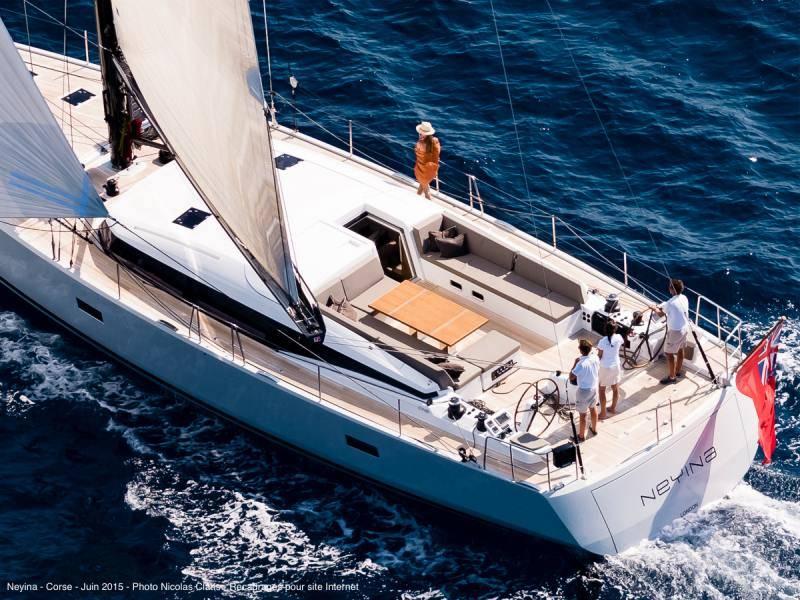 Sailing view