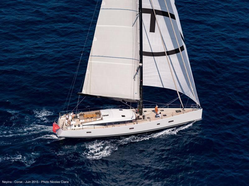 Under sails
