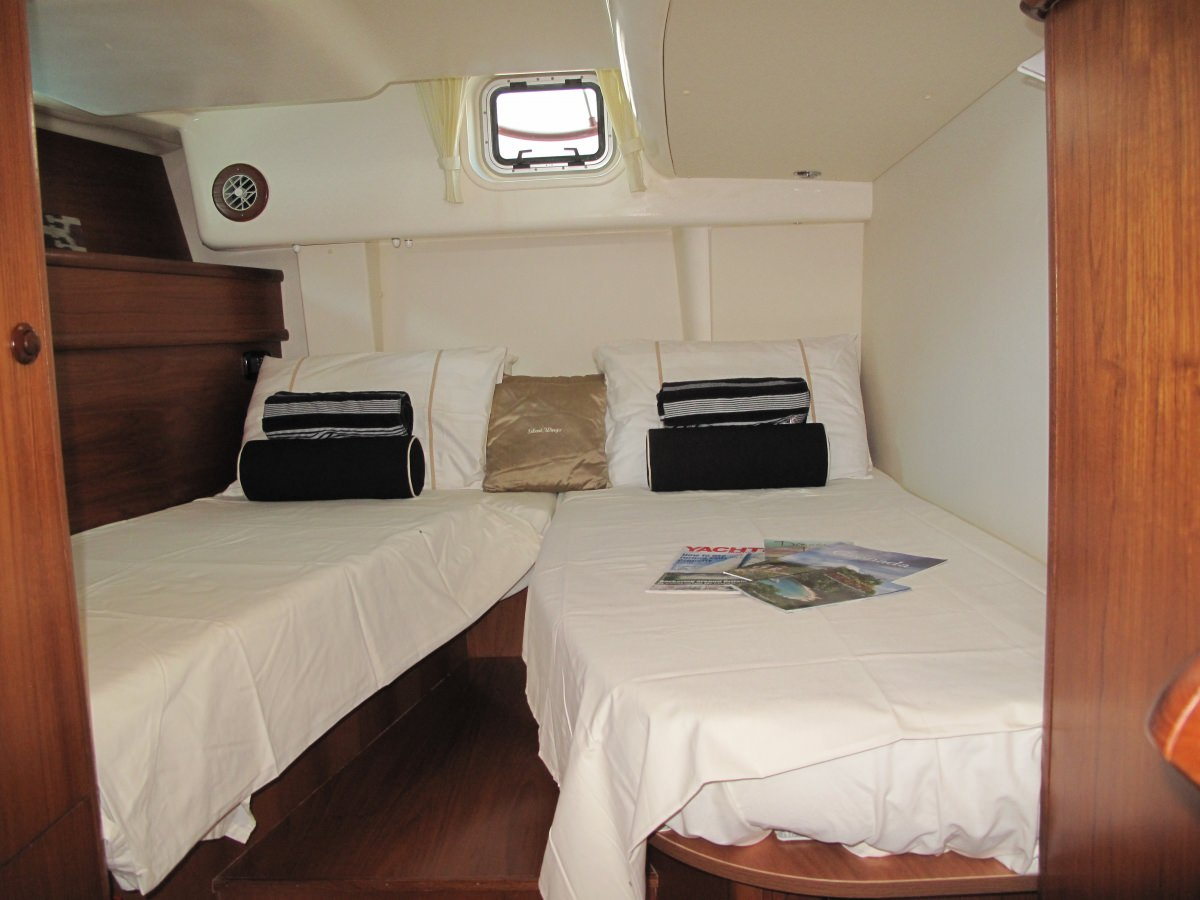 Guest Cabin split into Twins