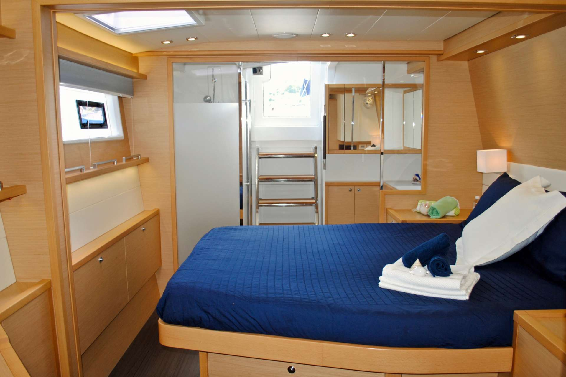 Master Suite with direct aft deck access