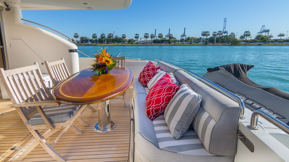 Yacht with Waverunner onboard