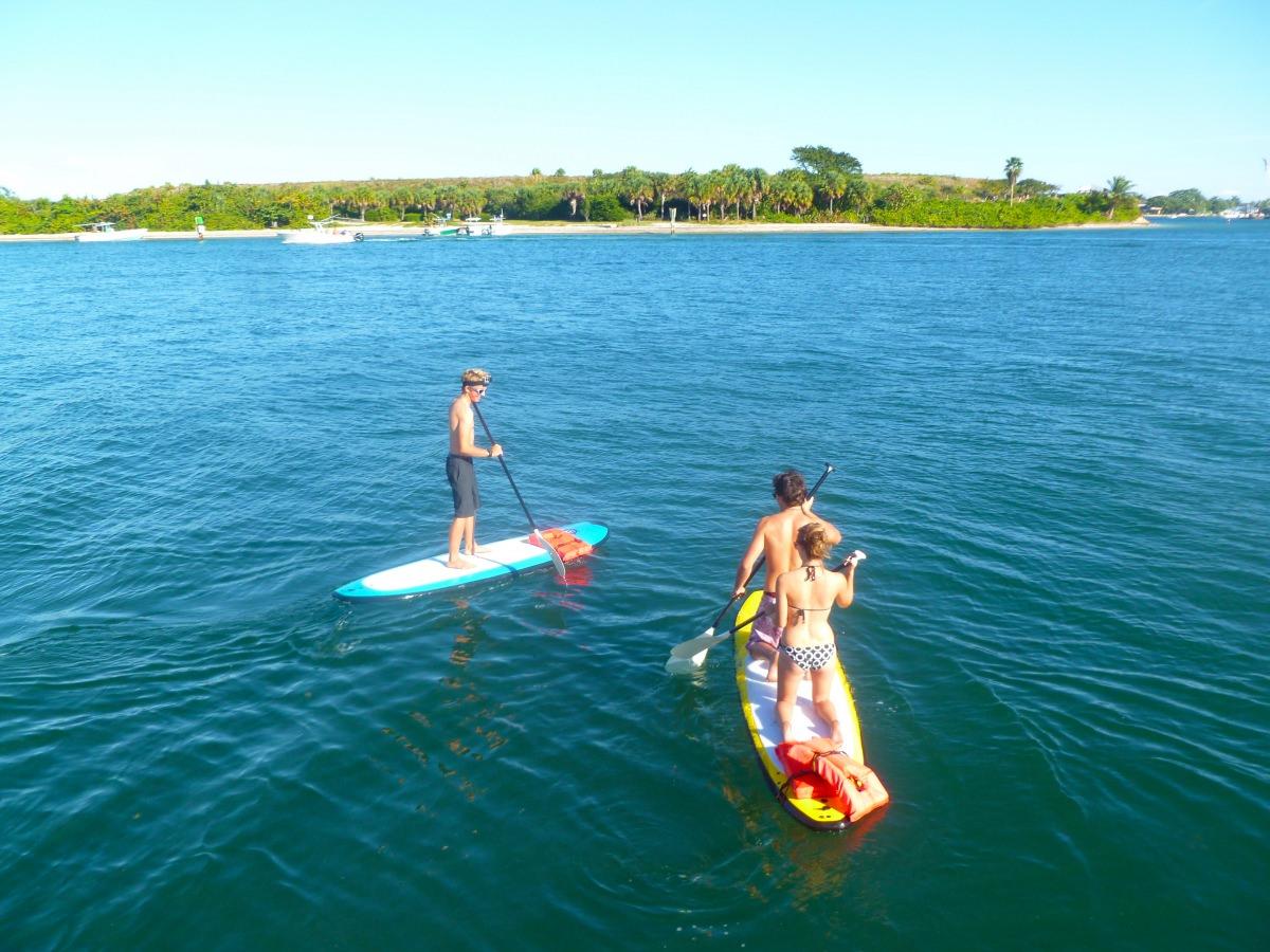 Paddleboard fun