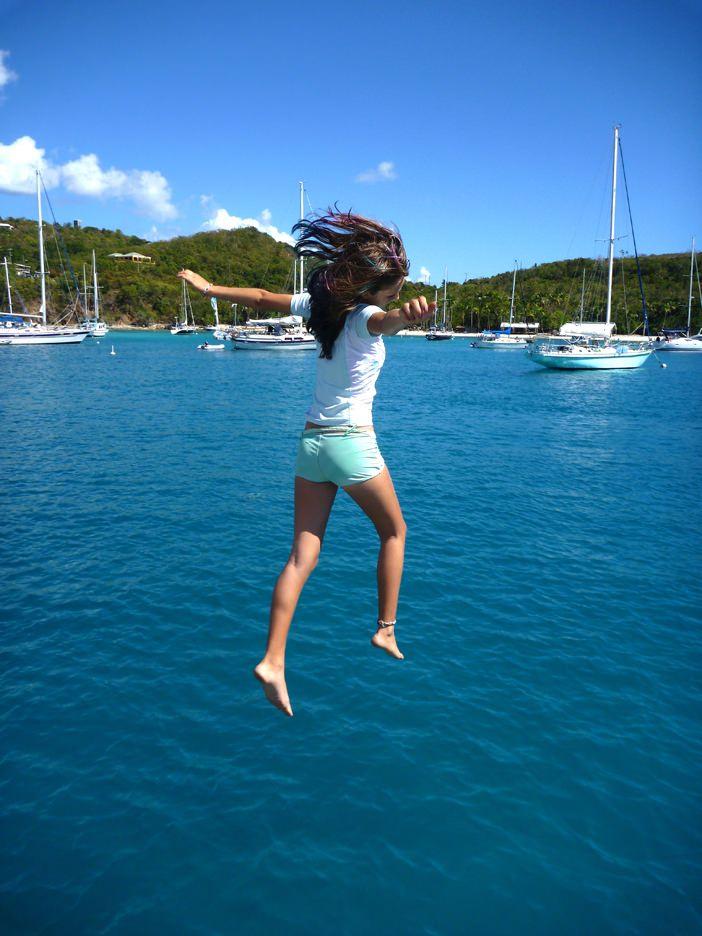 bow jumping