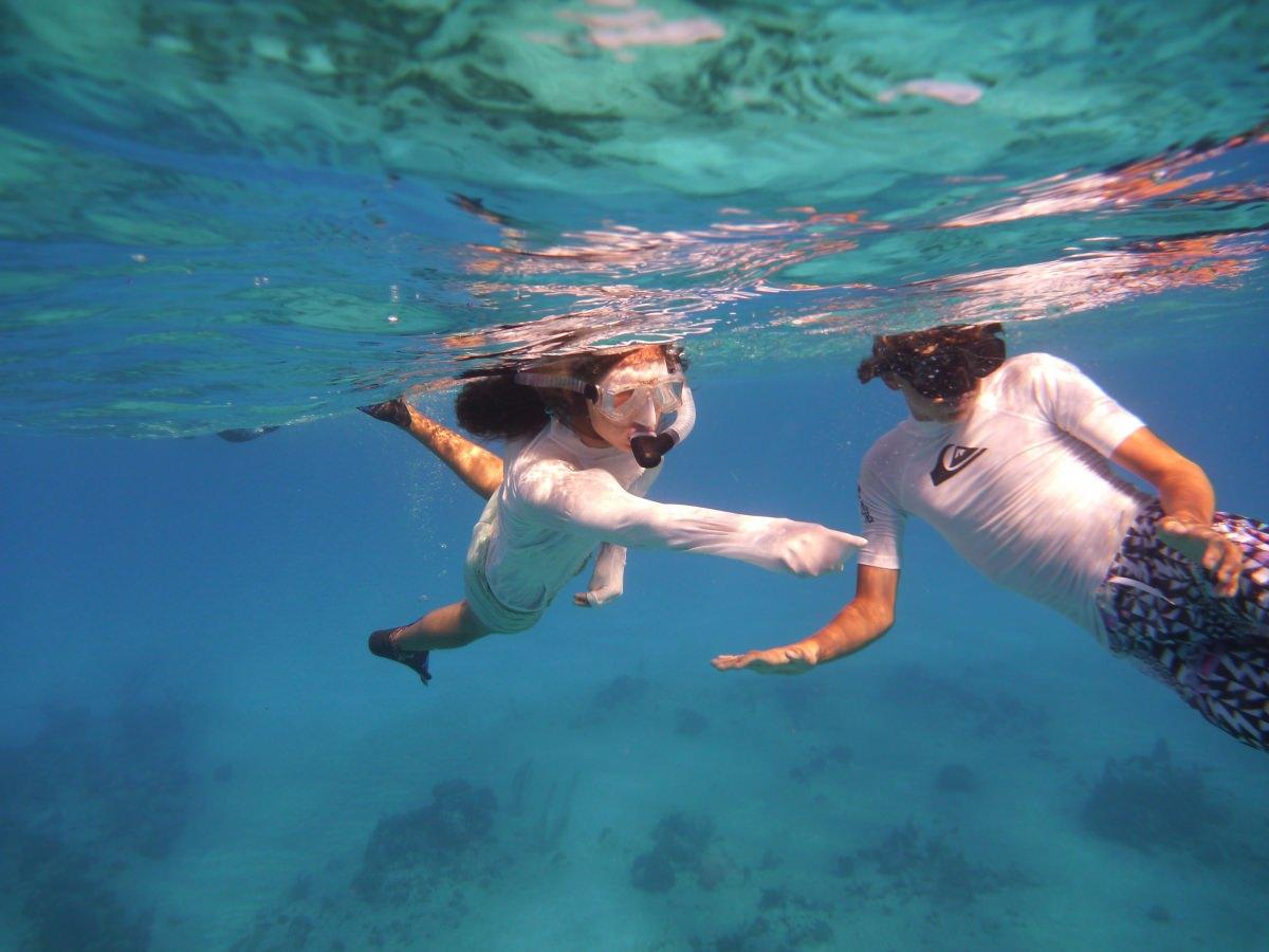 snorkeling fun