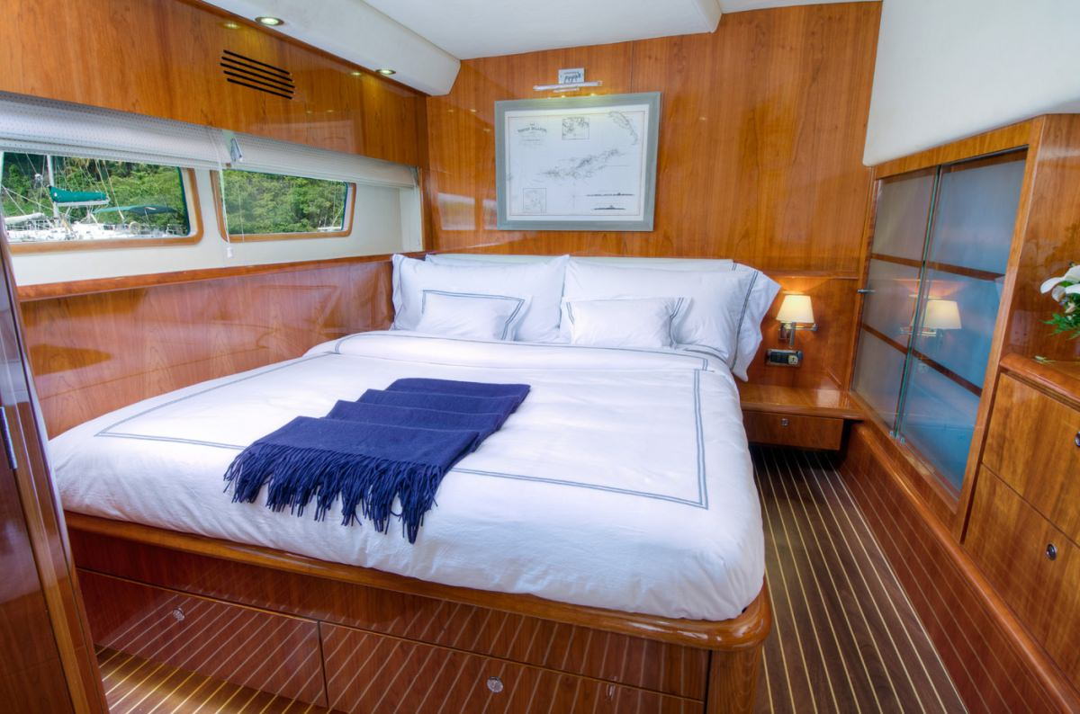 Another of the 3 queen guest cabins
