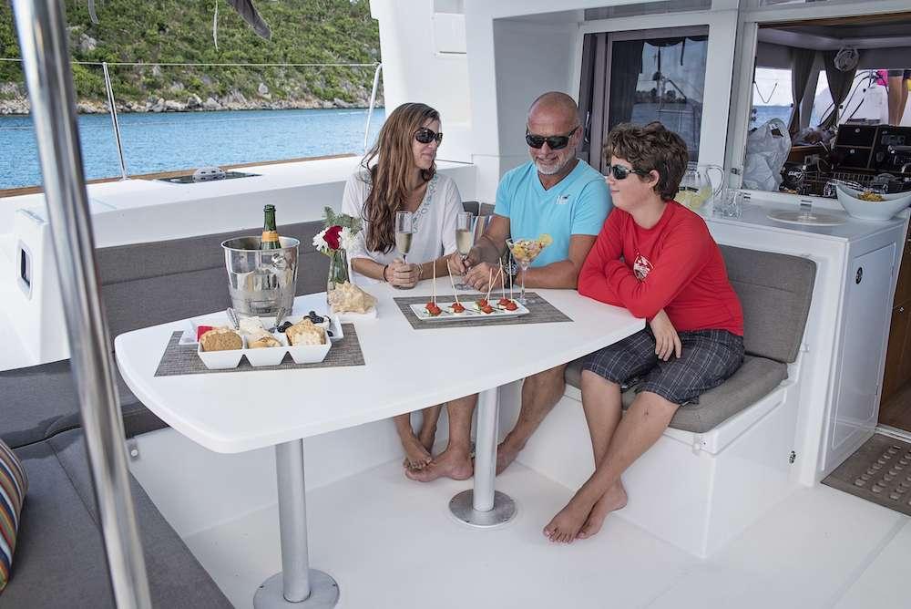 Catamaran Charter Great Adventure
