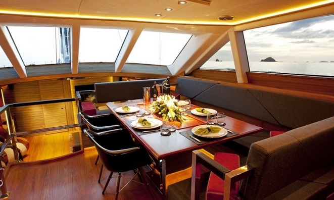 Bridge Formal Dining Area