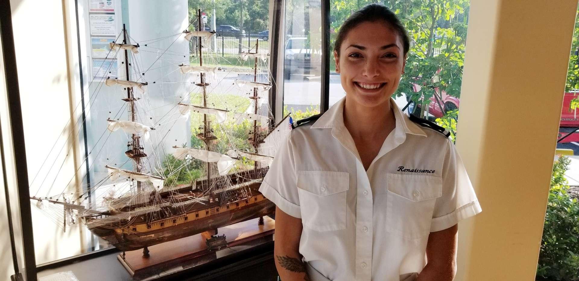Samantha Eastman Second Stewardess