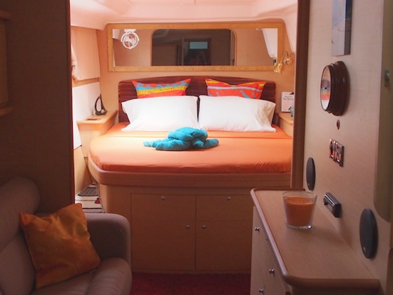 Master starboard guest suite