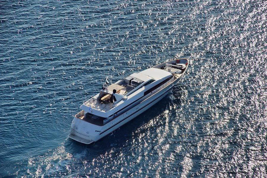 motor yacht OBSESION 120