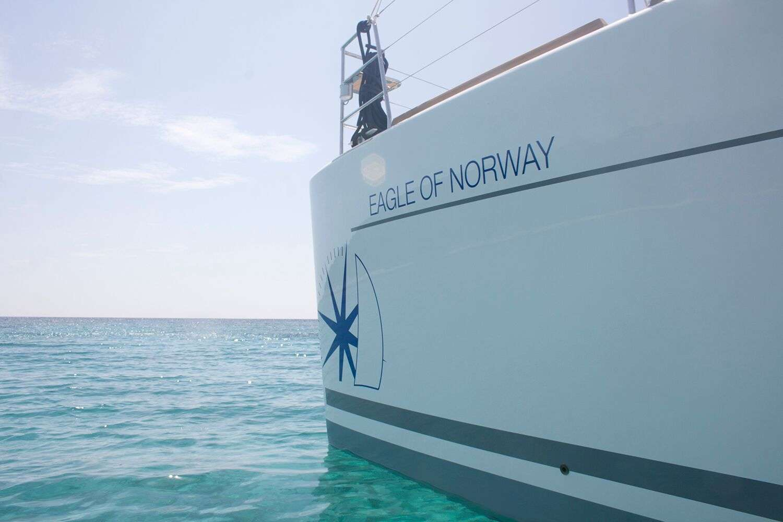 Catamaran Charter Eagle Of Norway