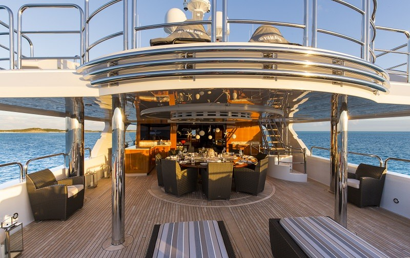Aft Deck Lounge Area