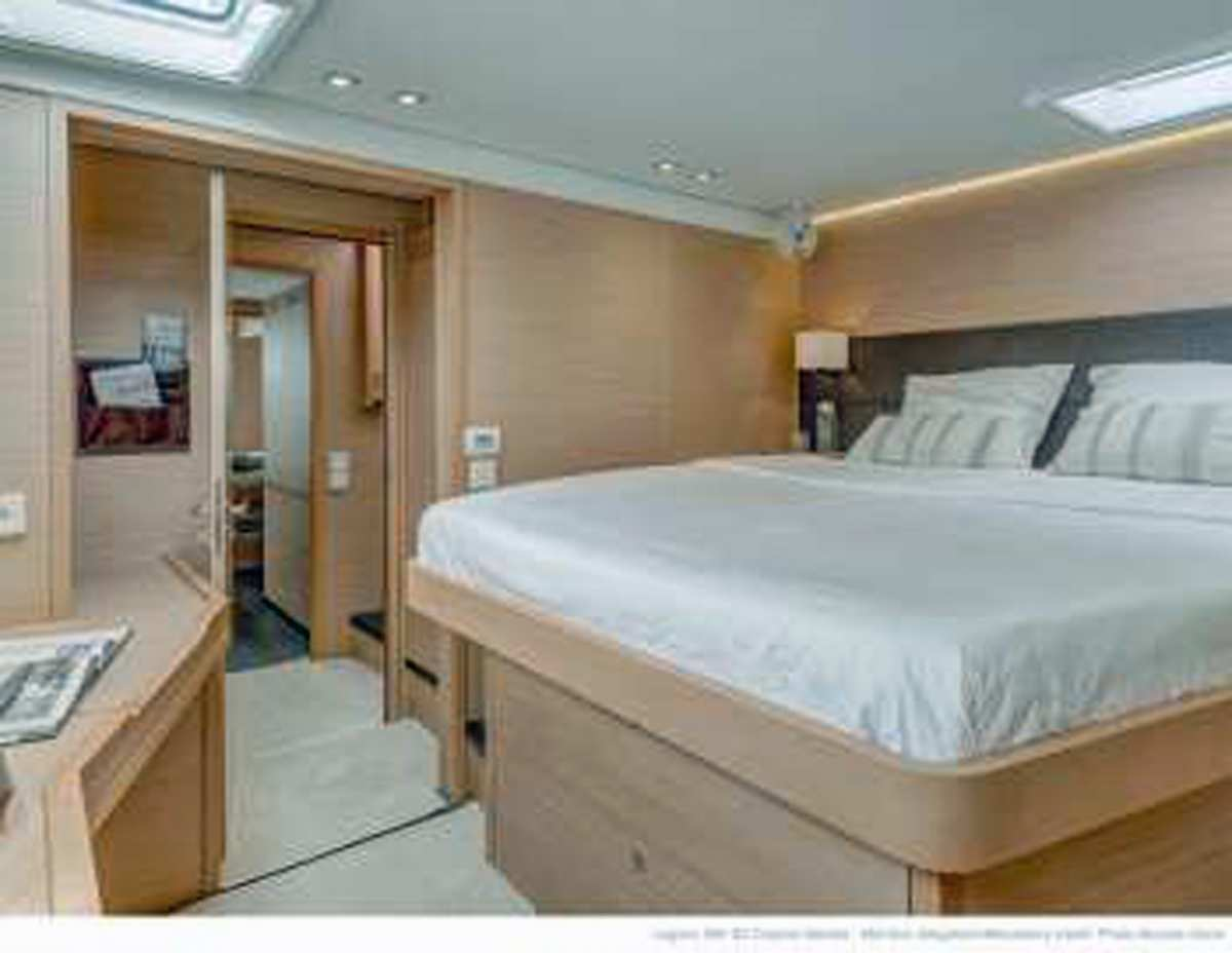 Starboard forward Queen Cabin