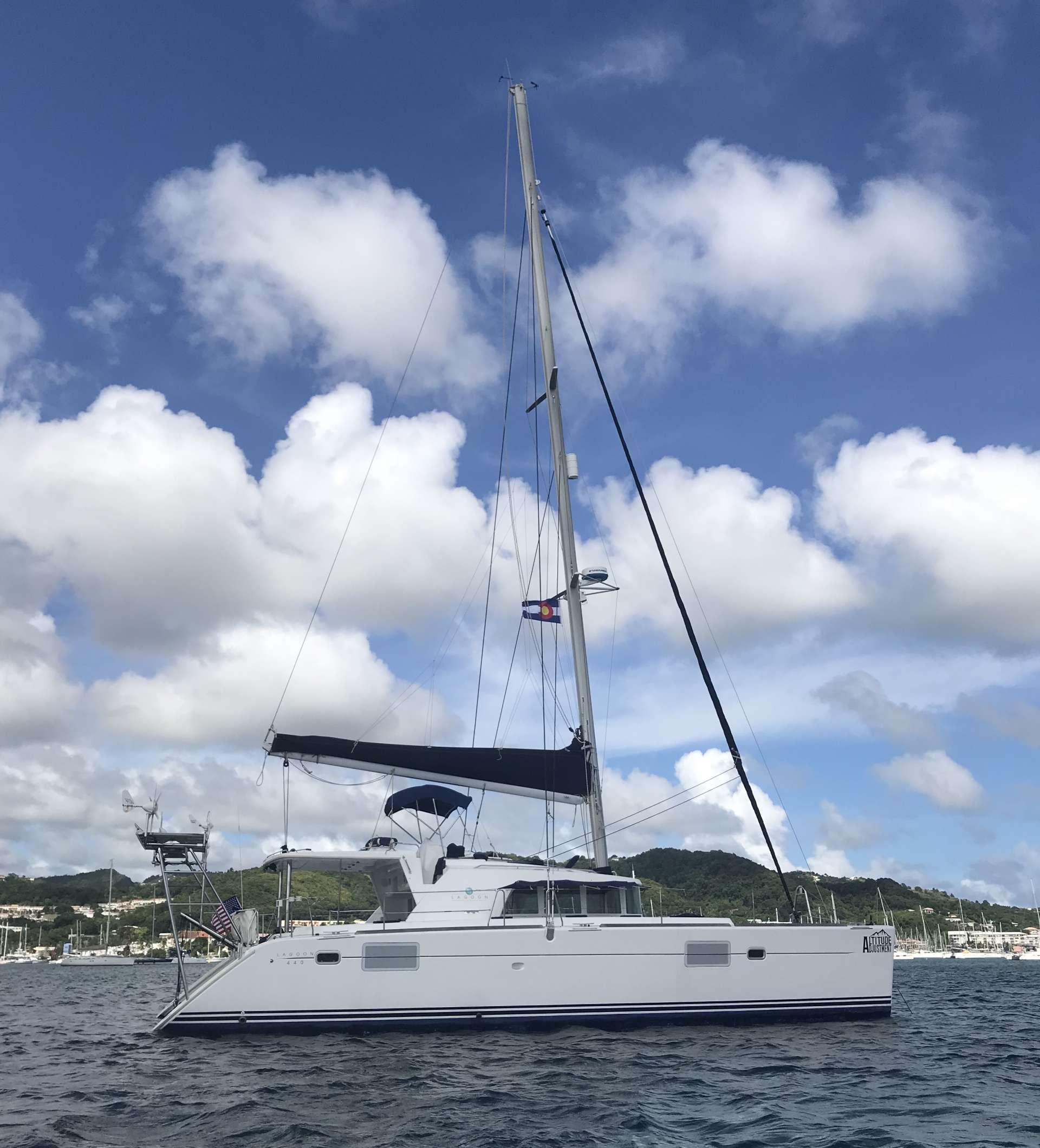 Catamaran Charter Altitude Adjustment