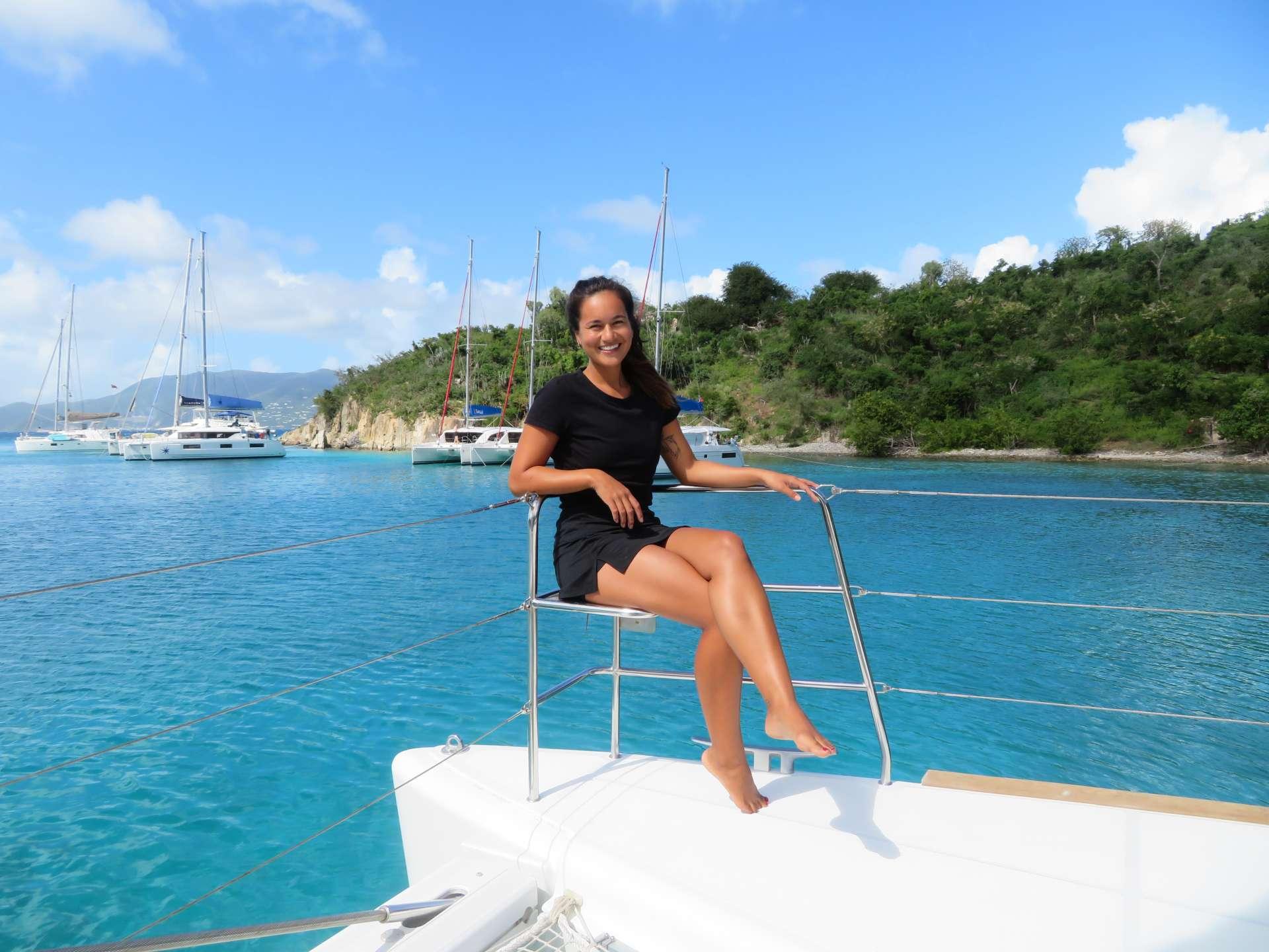 Joelle Fauzi Chef/Stewardess
