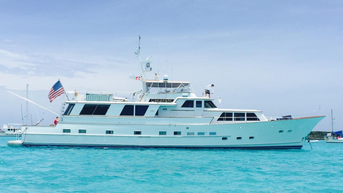 motor yacht SEAFARI