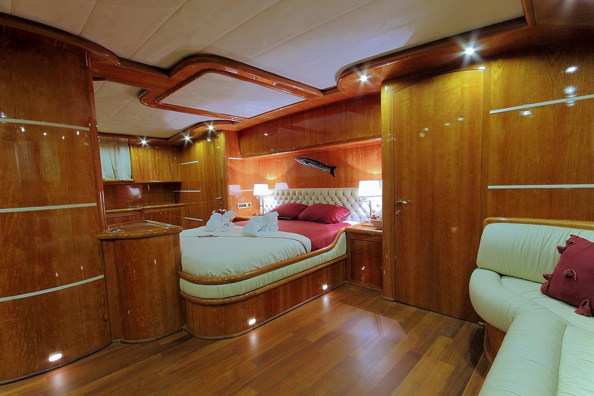 VIP Bedroom Side Angle
