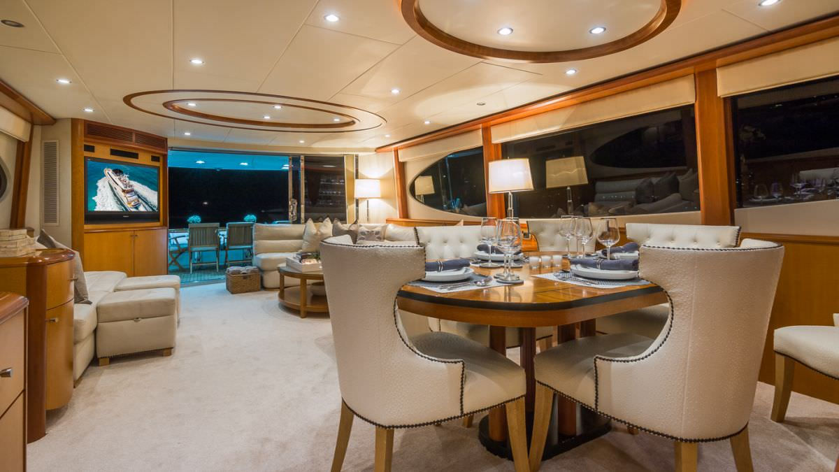motor yacht LIVING THE DREAM