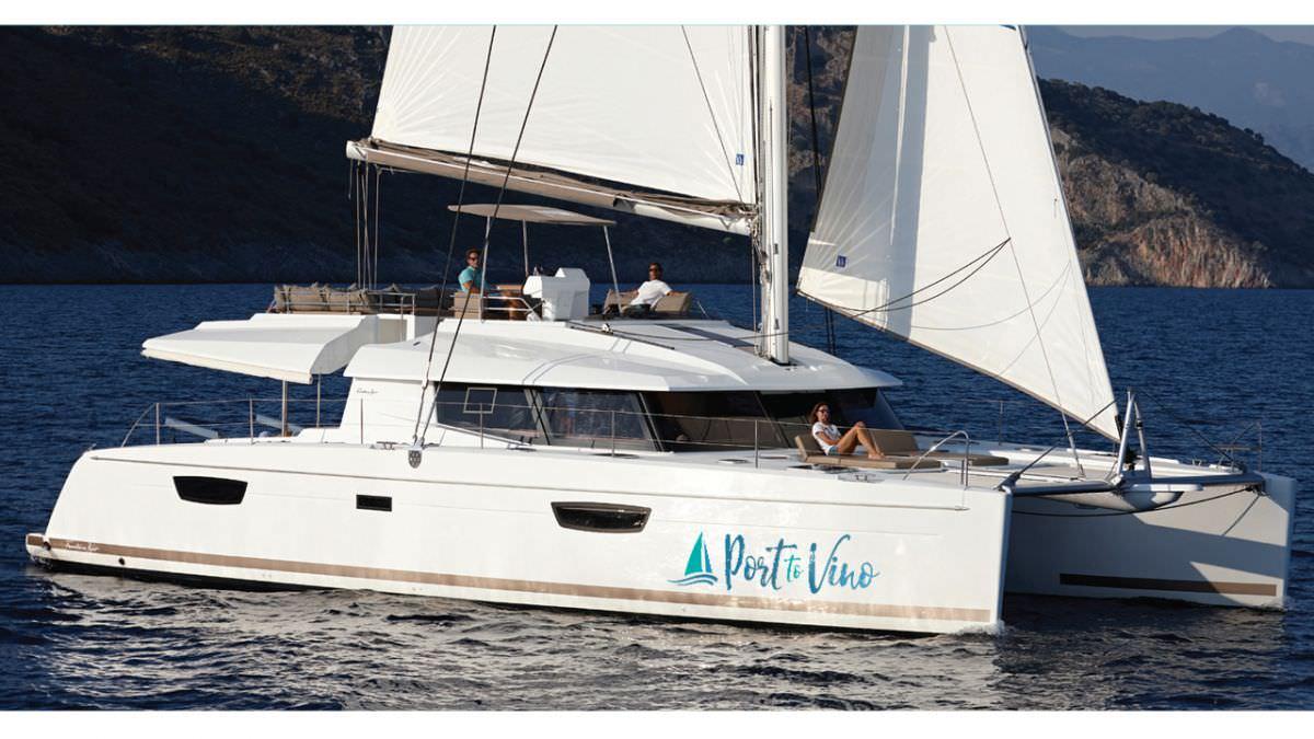 Catamaran Charter Port To Vino