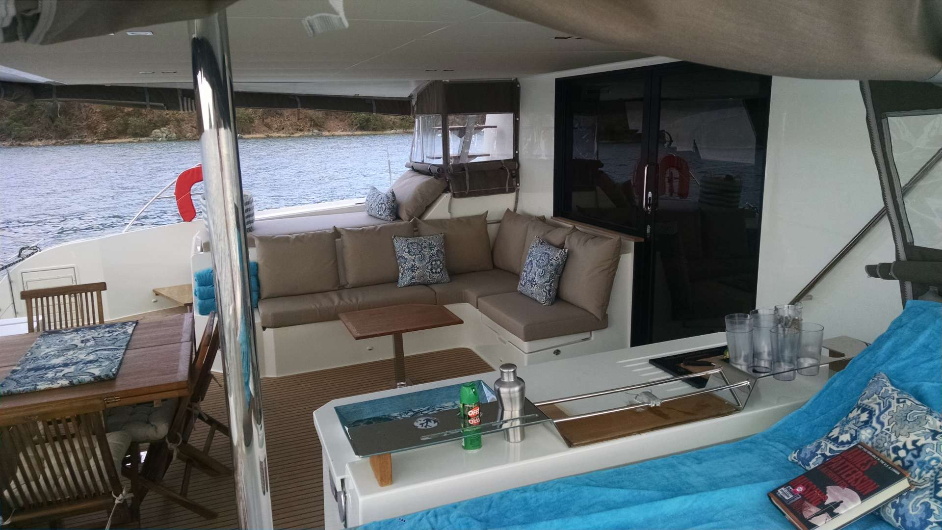 Cockpit seating area