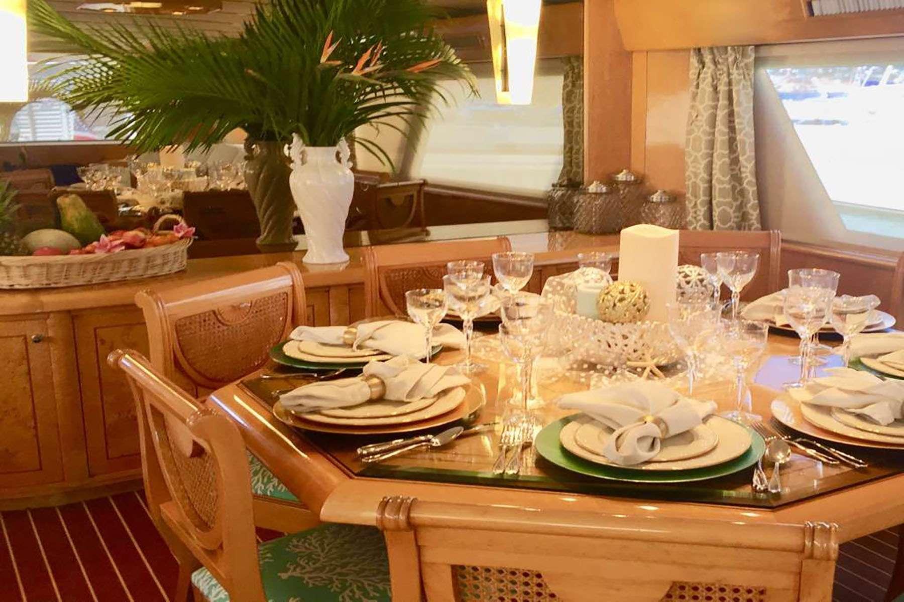 Elegant Inside A/C Dining