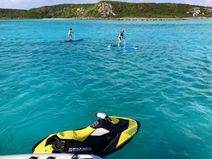 Paddle Boards and Jet Ski