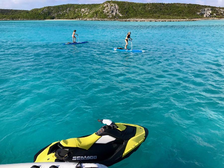Paddle Boards and Jet Ski