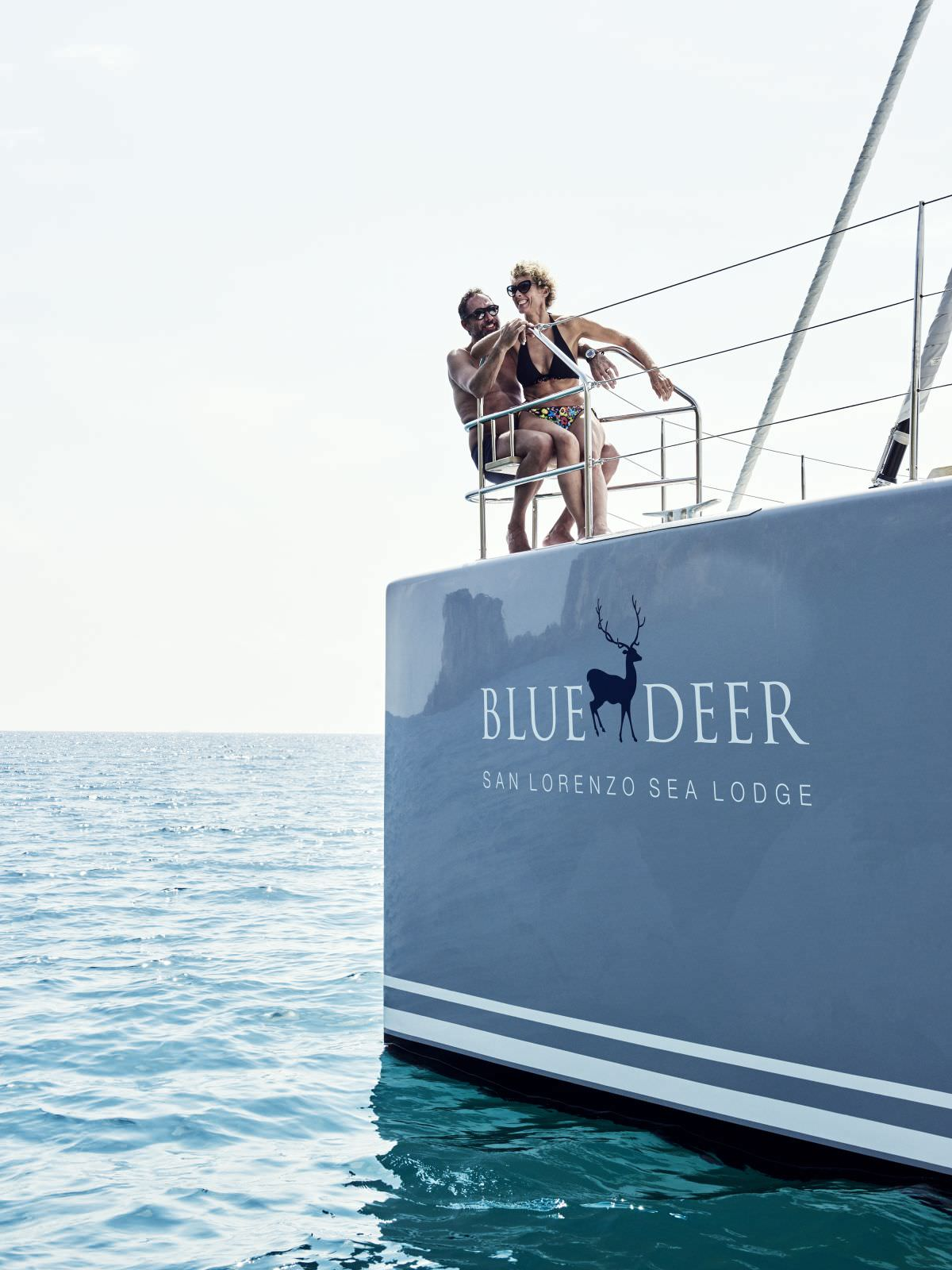 Catamaran Charter Blue Deer