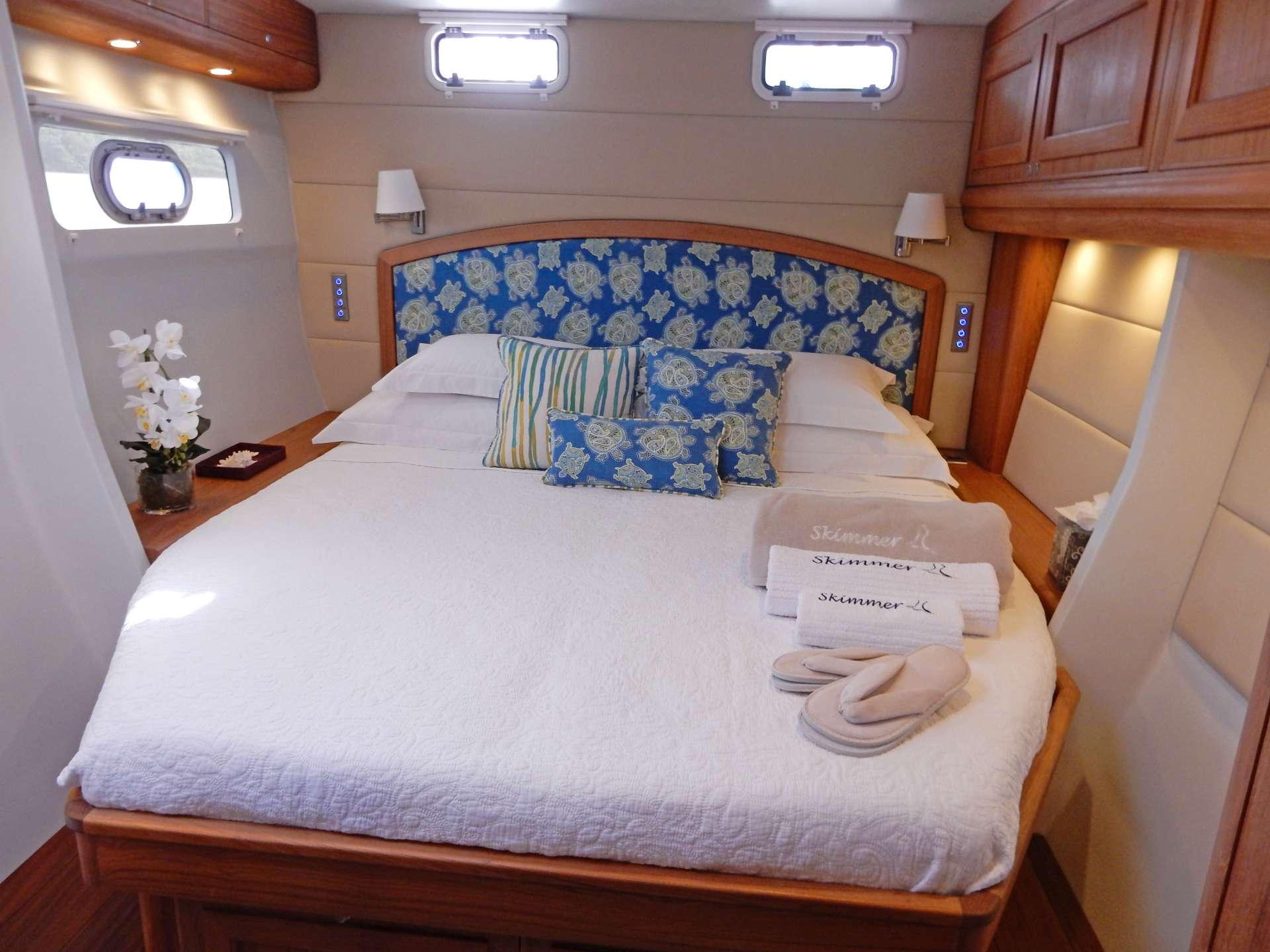 Aft Port King Guest Cabin