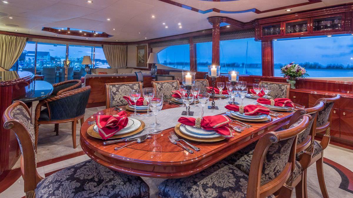 motor yacht CEDAR ISLAND