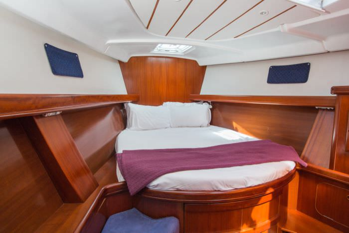 Forward master cabin
