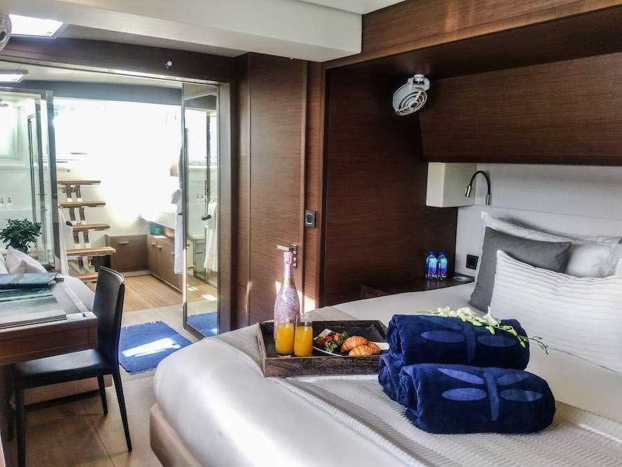 Master starboard aft queen suite