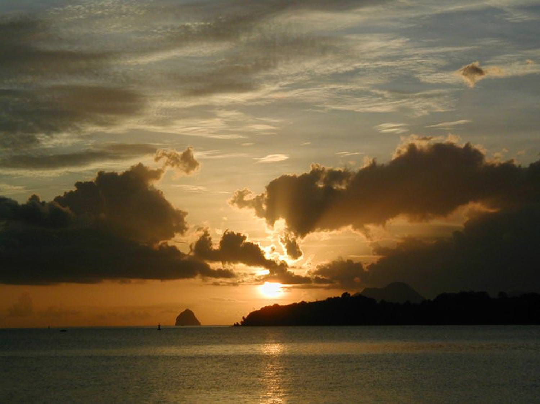 Beautiful Caribbean sunsets