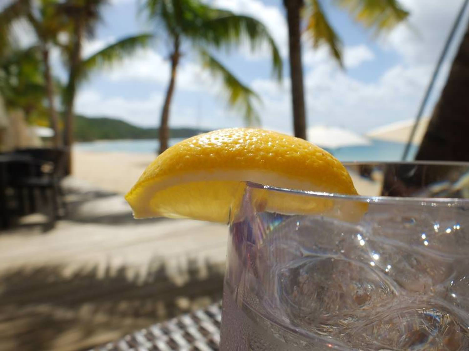 Cocktail time in the beautiful Caribbean......