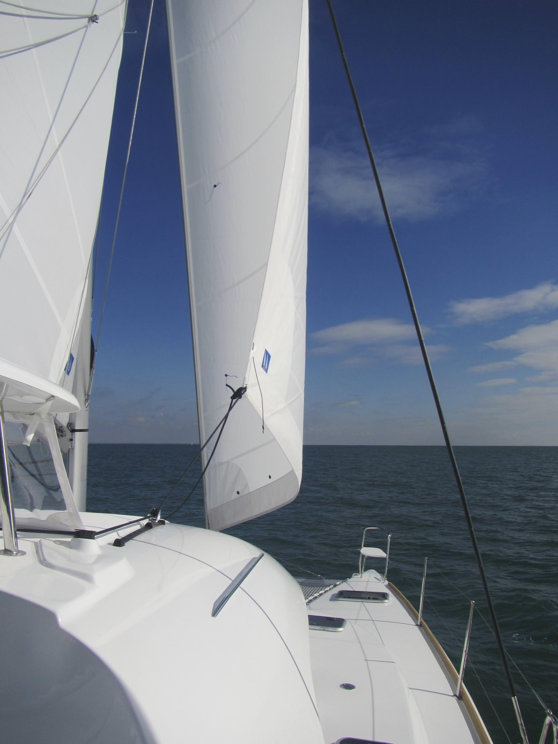 Sailing along on Harmony