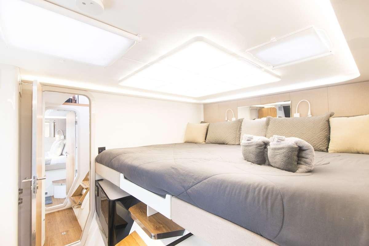 Aft deck lounge area