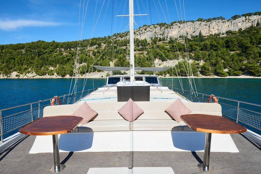 Nautilus - front deck area