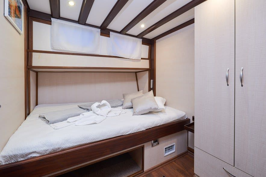 Gulet Nautilus, cabin