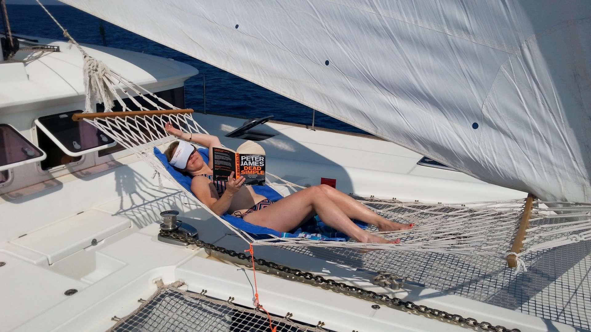 Catamaran Charter Hawkeye