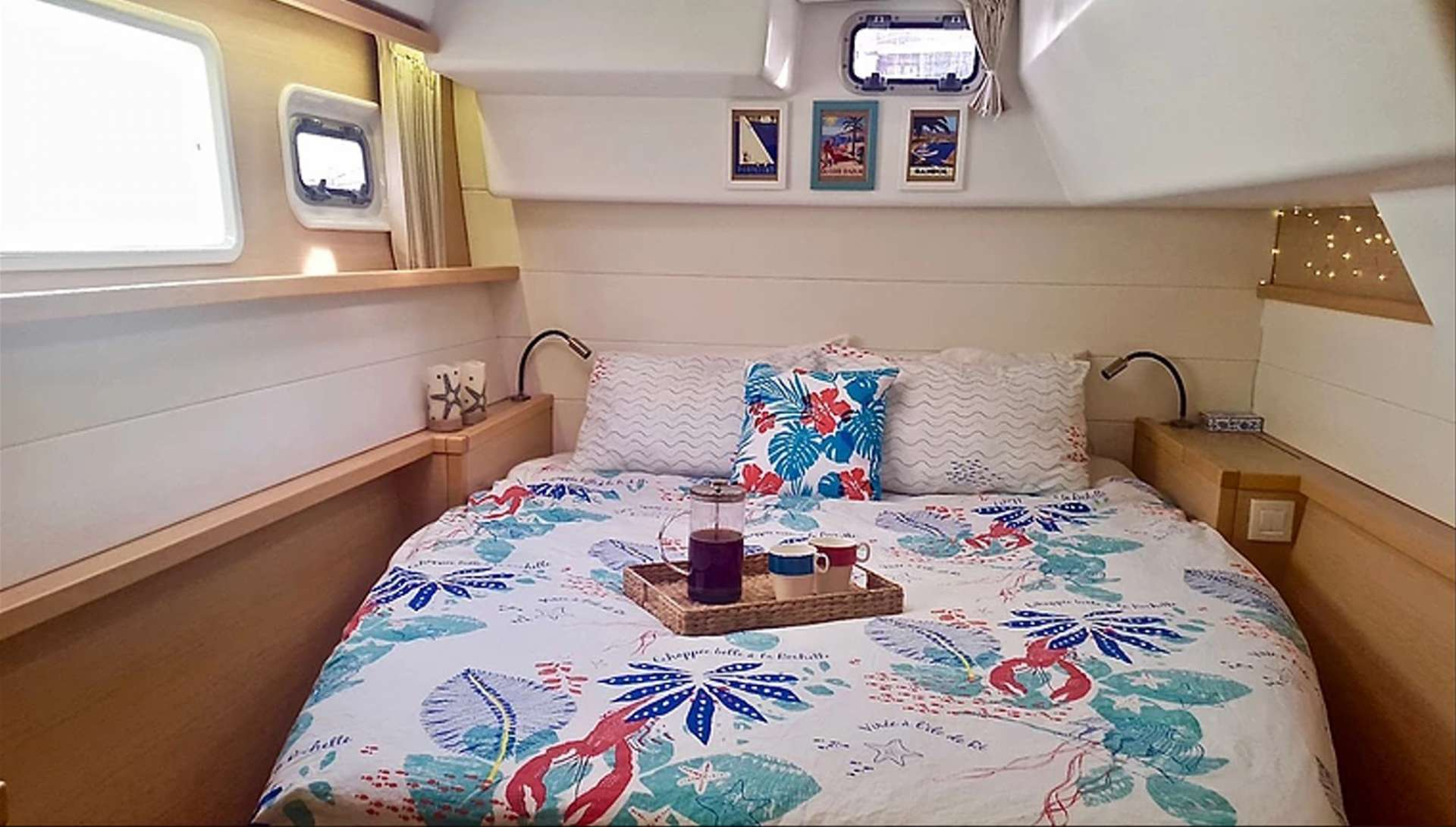 Starboard Aft Cabin: Private Access, Huge Ensuite & Large