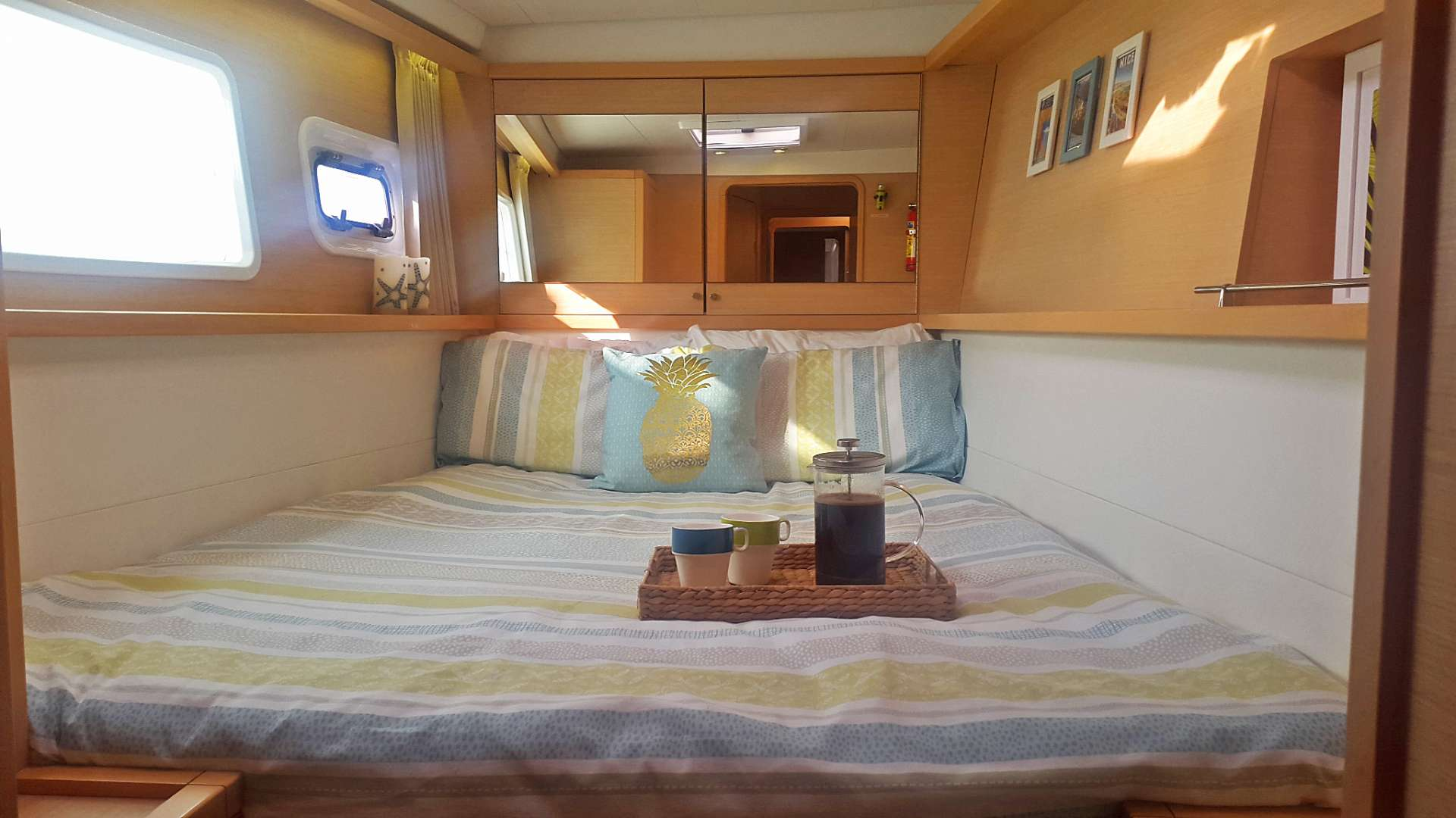 Port Forward Cabin: Double or Two Singles, Ensuite & Private Access