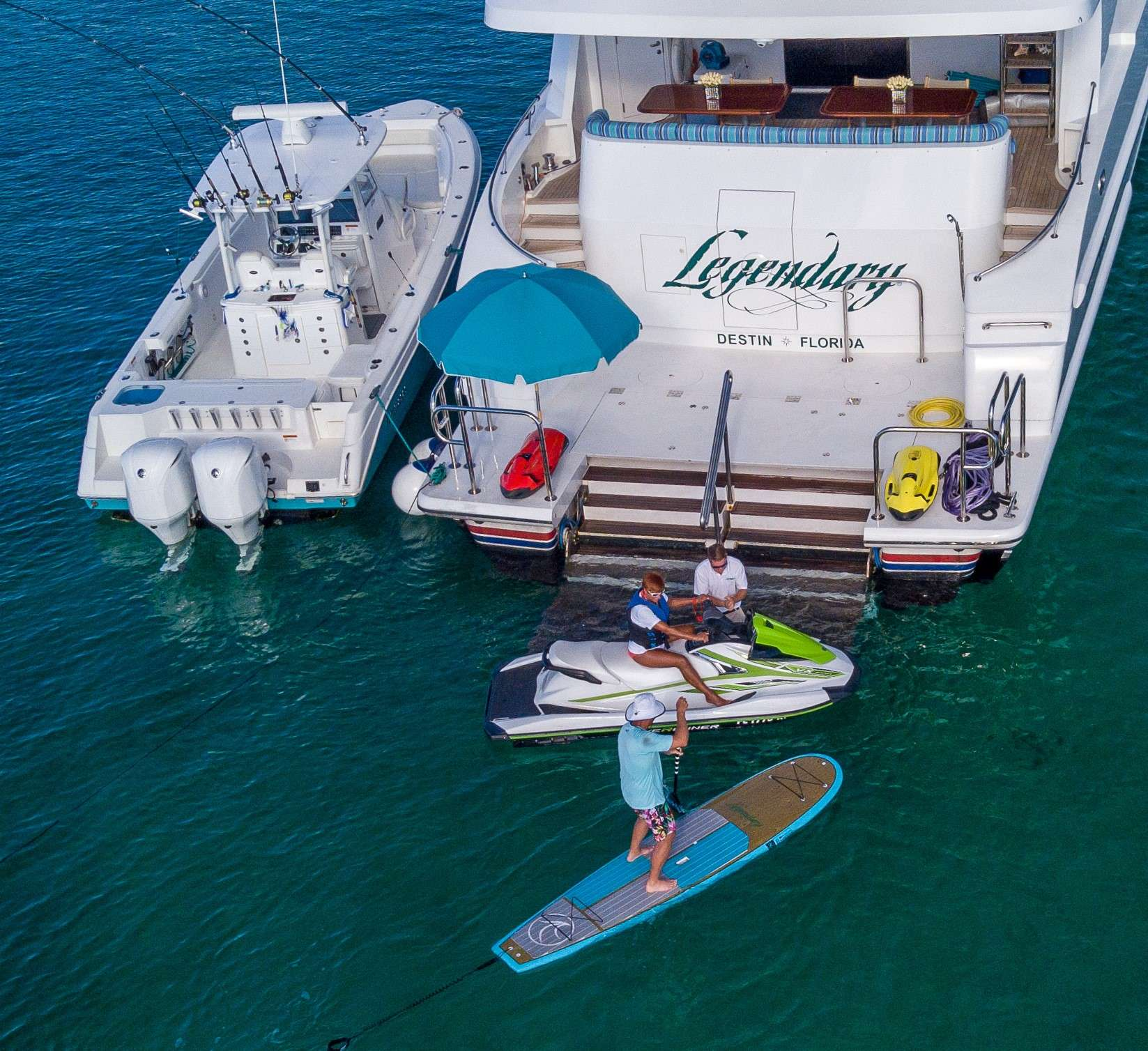 motor yacht LEGENDARY