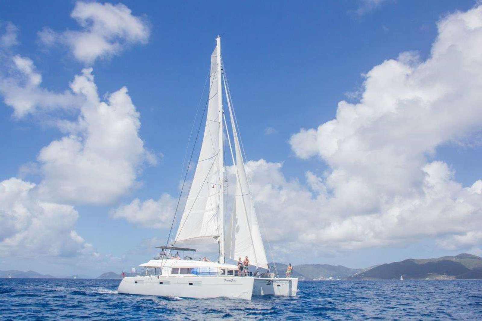 SandiSeas Under Sail