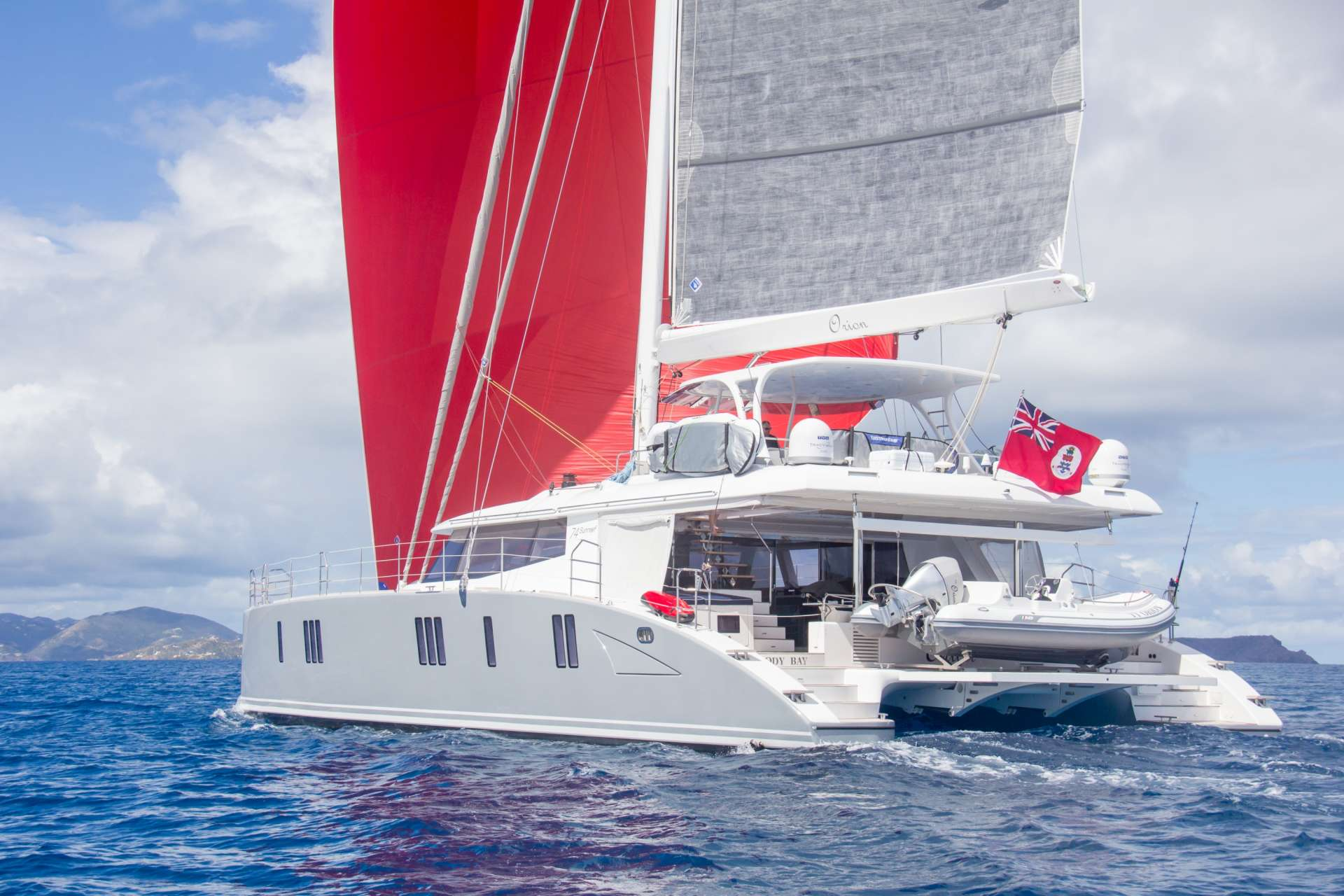 Catamaran Charter Orion