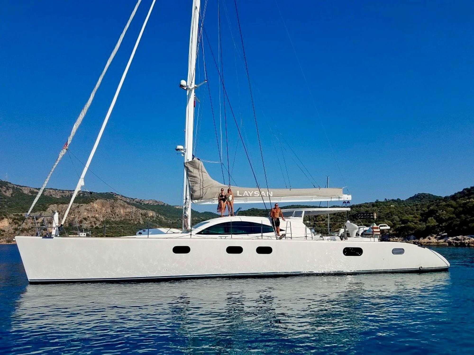 charter yacht Laysan