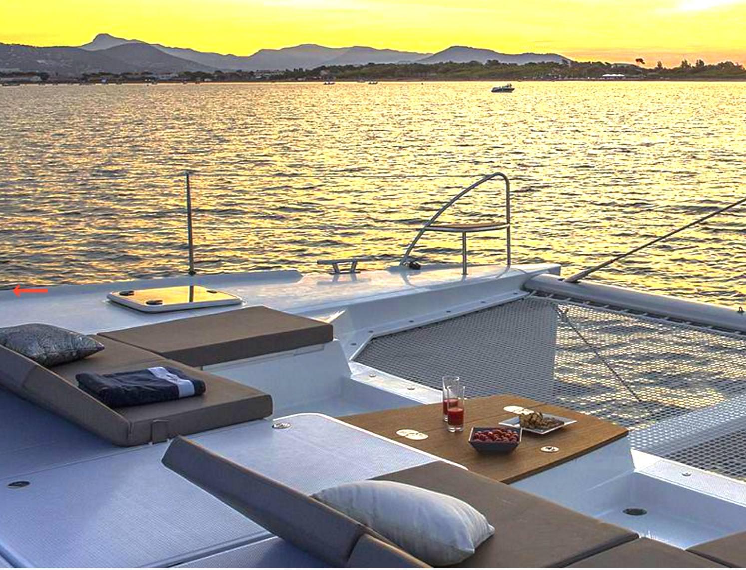 Catamaran Charter Mariann
