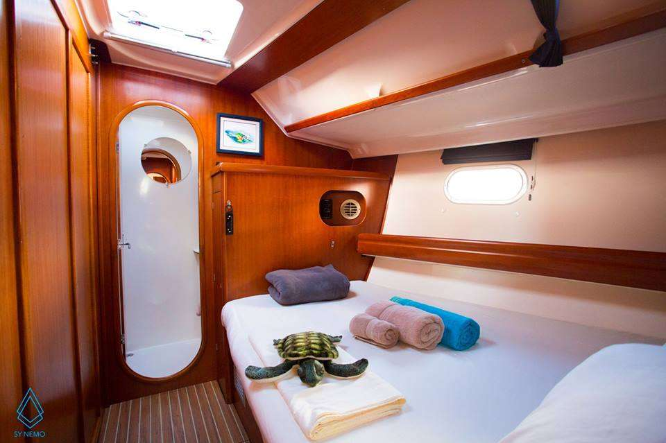 Mid ship Guest Cabin - photo Arthur Daniel
